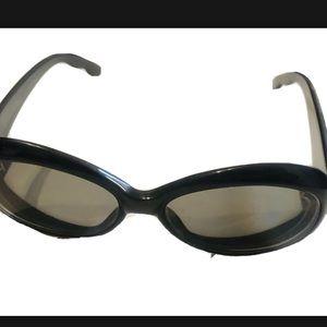 OSCAR DE LA RENTA Eyeglasses Frames Black Oval